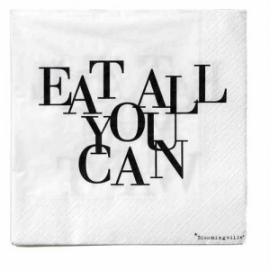 eat all you can servet