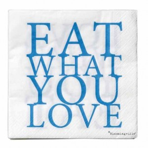eat what you love servet