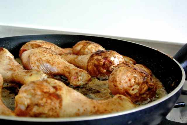 Chinese braised chicken1