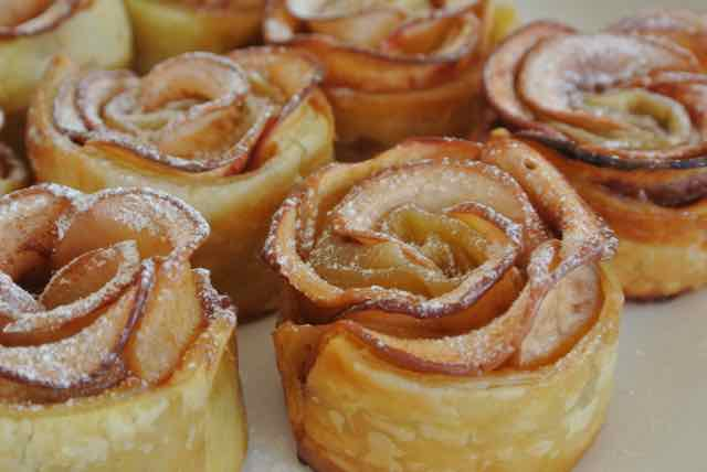 BEAUTIFUL APPLE: Appelroos-taartjes