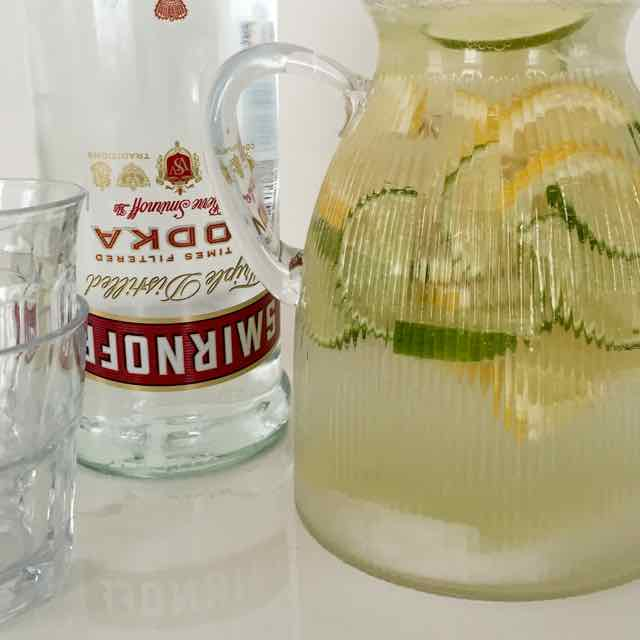 Wodka & Citroen limonade